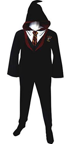 Harry Potter Hooded Footie Pajamas