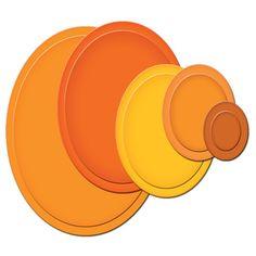 Nestabilities® Classic Ovals LG Etched Dies [S4-110] - Set/5 - Spellbinders - $14.99
