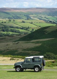 outstanding in its field ... Land Rover Defender