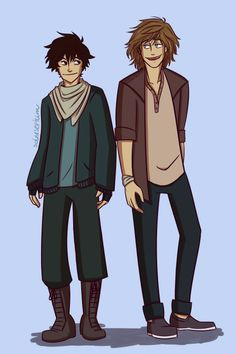 Poor baby boy Nathan and pretty boy with a french accent Gabriel yes hello.Finished Half Bad yesterday, and decided that it was a smart idea to start drawing at midnight and now it's almost morning and I finished drawing these two babies and I'm still not tired and I want to read Half Wild.Ohmygod this was so much fun <3