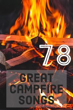The sun goes down and the evening air gets cooler. Lightening bugs appear out of the grass in the distance, but you feel the warmth of the f… Camp Songs, Songs To Sing, Kids Songs, Family Songs, Music Songs, Camping Activities For Kids, Camping With Kids, Family Camping, Campfires