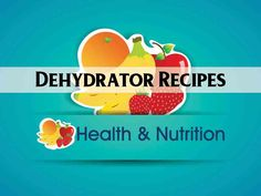 Dehydrator Recipes pinboard cover