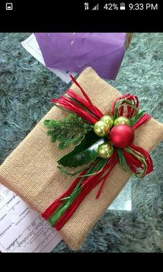 Envoltura regalos de navidad