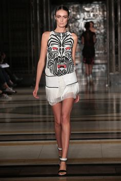 Lug Von Siga Spring/ Summer 2014 London Fashion Week Gul Agis