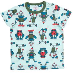 Robot Tshirt! Children's Clothing | Polarn O. Pyret USA