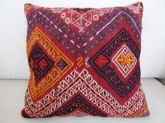 Anatolian  Turkish Rug Pillow Cover  kilim by mothersatelier, $129.00