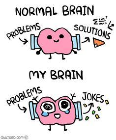 Normal Brain vs. My Brain 2 - image