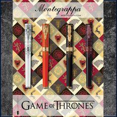 Game Of Thrones Schreibgerätekollektion von Montegrappa #montegrappadeutschland #gameofthrones #lannister #baratheon #stark #targaryen #stilwerkhamburg #stilwerk www.montegrappa-northern-europe.de