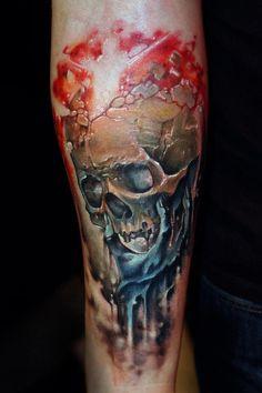 Skull Tattoo Bookings / zapisy: rocknink@gmail.com
