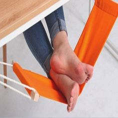 http://www.oddgifts.com/products/foot-hammock-for-desk?utm_campaign=Pinterest Buy Button