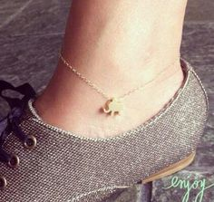 cute ankle bracelet ♥