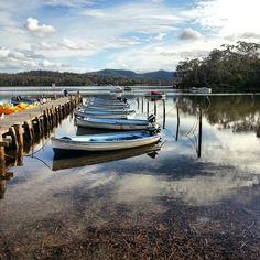 Toplake Merimbula NSW Australia South Coast Nsw, Australia Holidays, Wooden Boats, South Wales, Australia Travel, Tween, Places Ive Been, Beaches, Sapphire