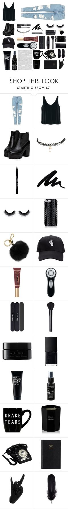 """""""HALEY"""" by x-nyaaa ❤ liked on Polyvore featuring Topshop, MANGO, Wet Seal, Givenchy, Christian Dior, Savannah Hayes, MICHAEL Michael Kors, Clarisonic, MAC Cosmetics and NARS Cosmetics"""