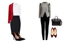 Reinventa el traje de oficina con la ayuda de los complementos, de prendas más actuales y con detalles. #lookstrabajo #looksoficina #trabajo #estilismos #looks