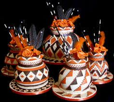 Traditional african cakes