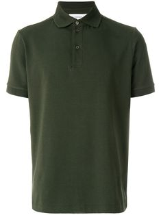 Polo Shirts for Men - Designer Fashion Green Cotton, Jil Sander, Polo Shirt, Short Sleeves, Nick Miller, Mens Fashion, Classic, Mens Tops, How To Wear