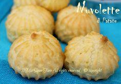 Nuvole di Patate soffici | Bignè di Patate: un impasto ottenuto dall'unione della pasta choux con la purea di patate. Cotte in forno sono leggere e sfiziose