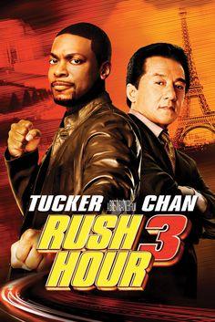 Rush Hour 3 Movie Poster - Jackie Chan, Chris Tucker, Hiroyuki Sanada…
