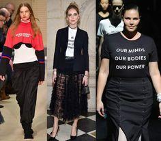 Veja os modelos de roupas e acessórios que são tendências da moda 2018 e se inspire. Conheça as principais apostas de estilistas e fashionistas.