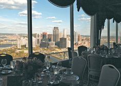 LeMont Restaurant on Mt. Washington in Pittsburgh, PA