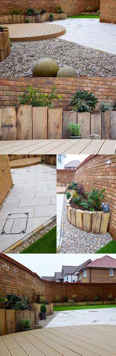 Modern Patio | Decking | Contemporary garden design | Vitripiazza Nuvola Porcelain Paving | Landscaping | Patio | Garden Path | Italian Style