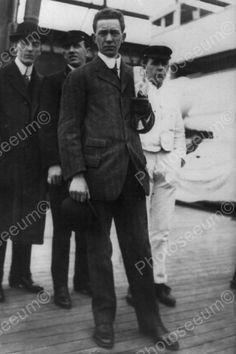 Stuart Sidney Collett Titanic Survivor Author 4x6 Reprint Of Old Photo
