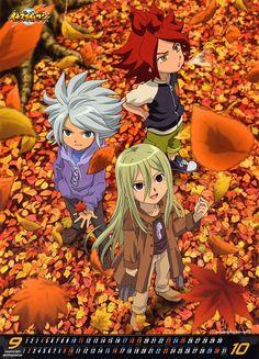 Tenya Yabuno, OLM Digital Inc, Inazuma Eleven, Afuro Terumi, Fuusuke Suzuno