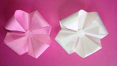 Origami flower 3D instructions 折り紙の花 立体 折り方