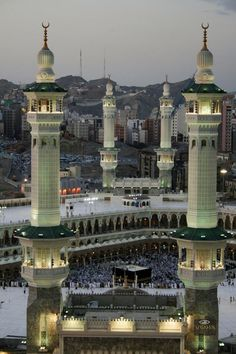 Masjid al-Haram, Saudi Arabia.   one of the holiest places on earth. yearning…
