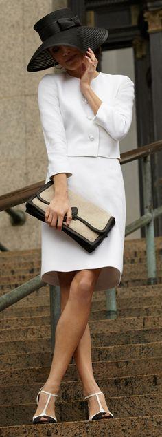 black & white elegance.