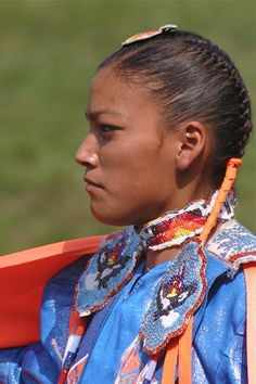 A Native American Princess.... Ho Chuck Nation Pow Wow, Black River Falls, Wisconsin.
