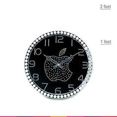 Apple Night Wall Clock 1
