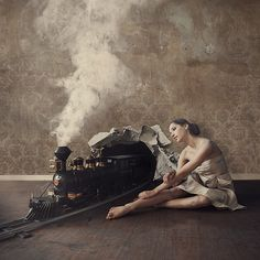 Surrealista Arte Obras de Brooke Shaden