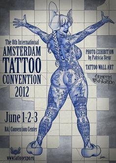 Amsterdam Tattoo Convention 2012