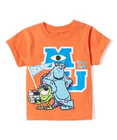 Look what I found on #zulily! Monsters University Orange Tee - Infant #zulilyfinds