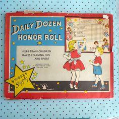 Star charts for kids, circa 1952.