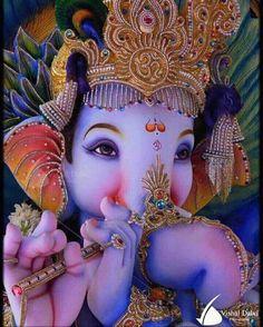 Singer: Shri Prakash Gossai Song: Shraddhaa Se Karte Naman With Hindi & English Lyrics Ganesh Pic, Jai Ganesh, Ganesh Lord, Shree Ganesh, Ganesha Art, Ganesha Drawing, Lord Krishna, Durga Images, Ganesh Images