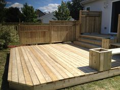 Multi-stage Patios – Wood Patio - All About Backyard Sheds, Backyard Patio, Backyard Landscaping, Landscaping Ideas, Pergola Patio, Patio Deck Designs, Patio Design, Terrasse Design, Patio Plans