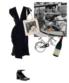A fashion look from February 2018 featuring Yves Saint Laurent and blue dress. Browse and shop related looks. Retro Outfits, Cool Outfits, Vintage Outfits, Casual Outfits, Vintage Fashion, Fashion Outfits, Fashion Trends, Aesthetic Fashion, Aesthetic Clothes