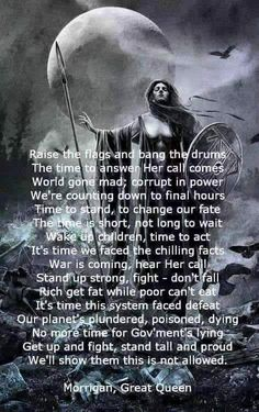 Deity | The Morrigan - Call to Battle ~ Warriors are needed! ~ ad