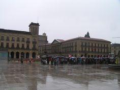 Navarra. Pamplona. Plaza del Castillo.