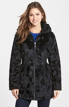 Laundry by Shelli Segal Reversible Faux Persian Lamb Fur Coat available at #Nordstrom