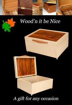 A finely crafted wood keepsake box makes a perfect gift for any occasion. Built to provide a lifetime of pleasure and use. 5th Wedding Anniversary, Professional Women, Keepsake Boxes, Etsy Seller, Entertaining, Woman, Creative, Gifts, Design