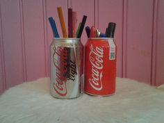 DIY coca-cola pennenbakje