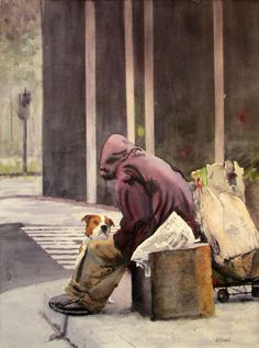 "Gallery - Ally Benbrook Watercolors Best of Show in the Spring Show, ""The Tapestry of Life"""