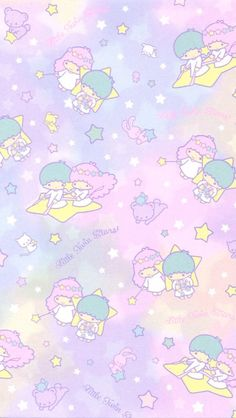#littletwinstars #wallpaper