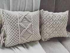 Macrame Design, Ready To Go, Cushion Covers, Different Colors, Crafting, Cushions, Design Inspiration, Throw Pillows, Colour