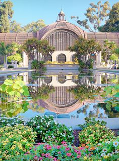 32 Surreal Travel Spots You Won't Believe Exist in America - BALBOA PARK BOTANICAL BUILDING Not only is the building in San Diego a spectacular sight, but you can marvel at the abundance of plant life as well.