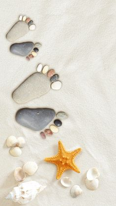 iPhone and Android Wallp apers: Pebble Feet iPhone Wallpaper Et Wallpaper, Ocean Wallpaper, Summer Wallpaper, Wallpaper Backgrounds, Iphone Wallpaper, Summer Backgrounds, Flower Backgrounds, Deco Spa, Image Beautiful
