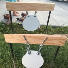 Homemade gong stands Save those thumbs \u0026 bucks w/ free shipping on this magloader I & Poor mans plate rack \u2026   Pinteres\u2026